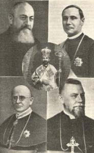 Ierarhii Greco-Catolici prezenti la inaugurare