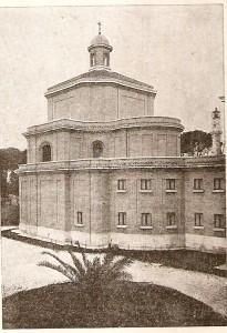 Colegiul Pio Romeno după terminarea lucrărilor de construcție, 1937