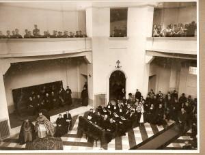 Celebrarea Sfintei Liturghii cu ocazia inaugurării Colegiului Pio Romeno, 9 mai 1937
