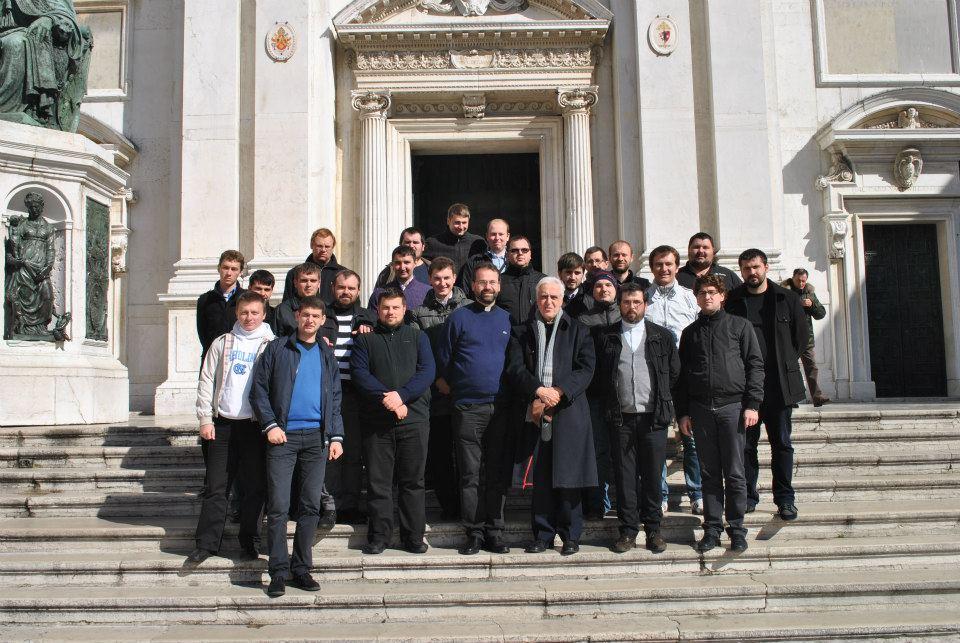 Exercițiile spirituale anuale ale studenților de la Colegiul Pio Romeno