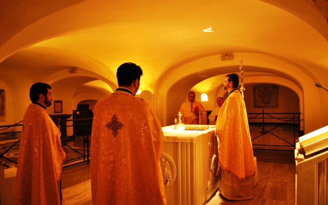 Sfânta Liturghie la Sepulcrum Sancti Petri Apostoli