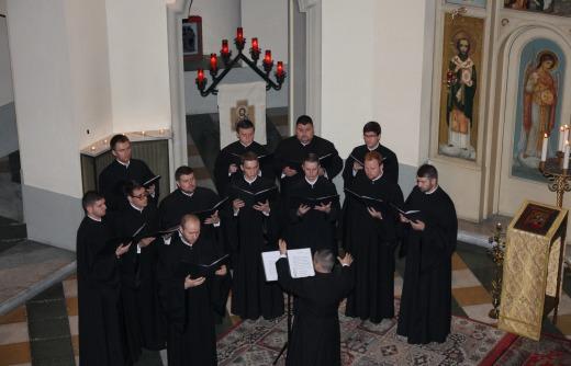 Glasul Colindelor în Colegiul Pio Romeno