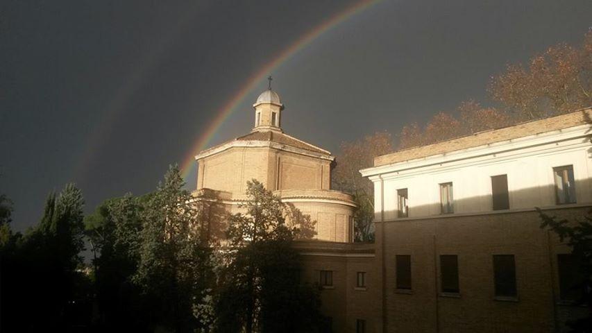 """Studenții Colegiului Pontifical """"Pio Romeno"""" în exerciții spirituale"""