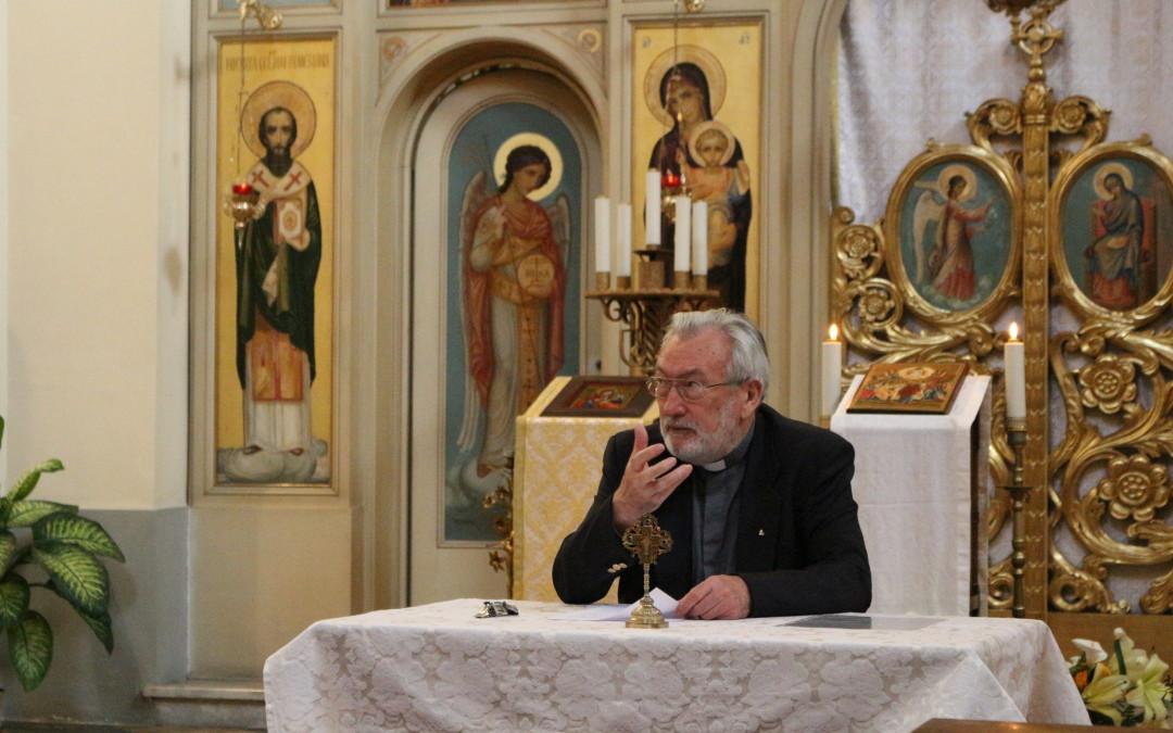 """A treia conferință """"Voi sunteți mărturisitori"""" la Colegiul Pontifical Pio Romeno"""