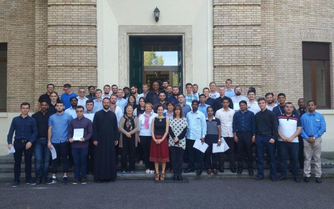 Încheierea cursului de limba italiană pentru studenții Bisericilor Orientale