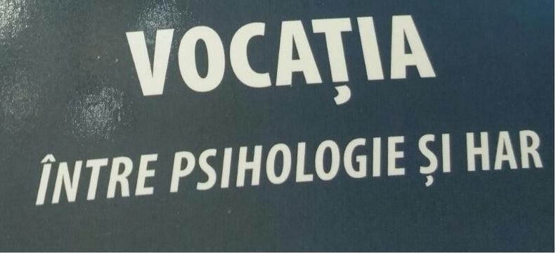 """""""Vocația, între psihologie și har"""" – o nouă apariție în colecția Caietele Pio Romeno"""