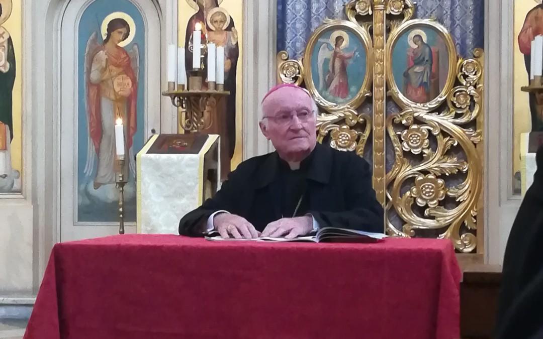 A doua conferință a Episcopului Paolo de Nicolò