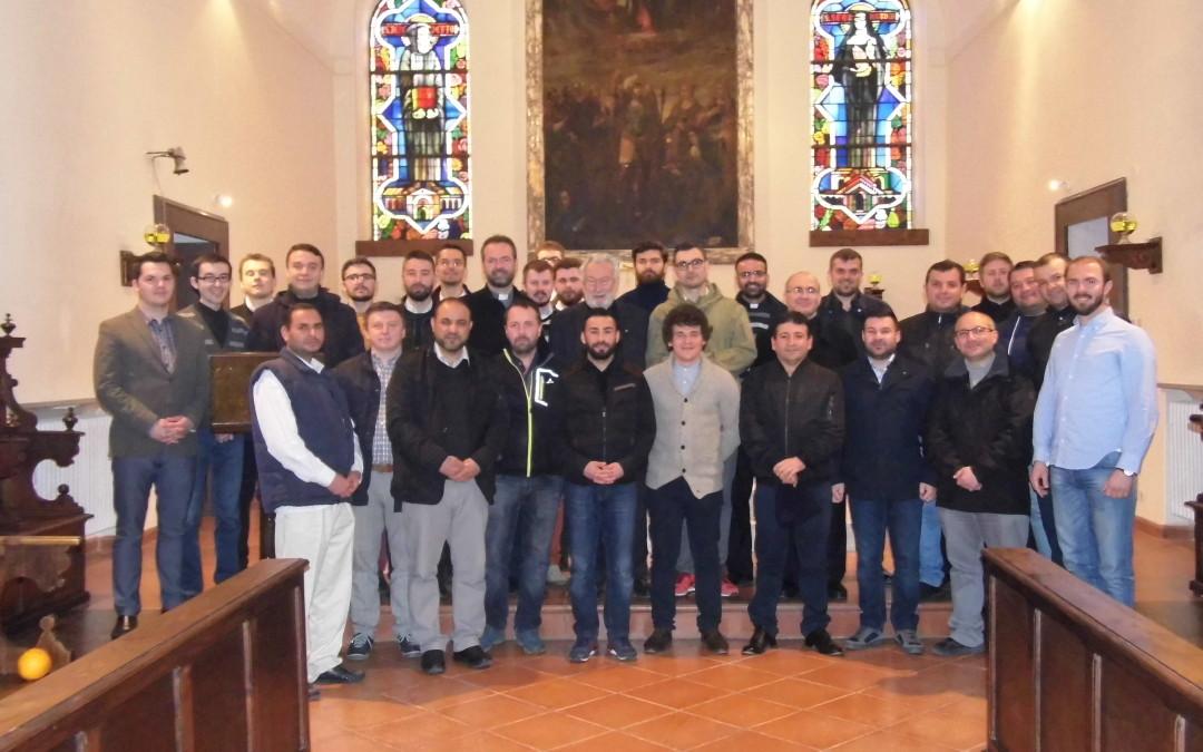 Exerciții spirituale pentru studenții Colegiului Pontifical Pio Romeno