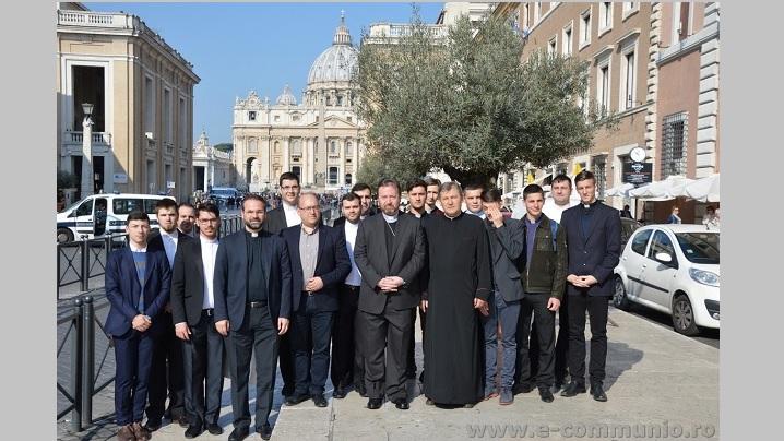 Pelerinajul seminariștilor blăjeni la Roma: credință și vocație