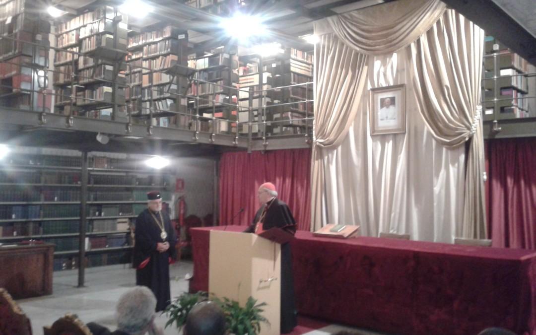 PS Dimitrios Salachas – Doctor Honoris Causa în Drept Canonic Oriental