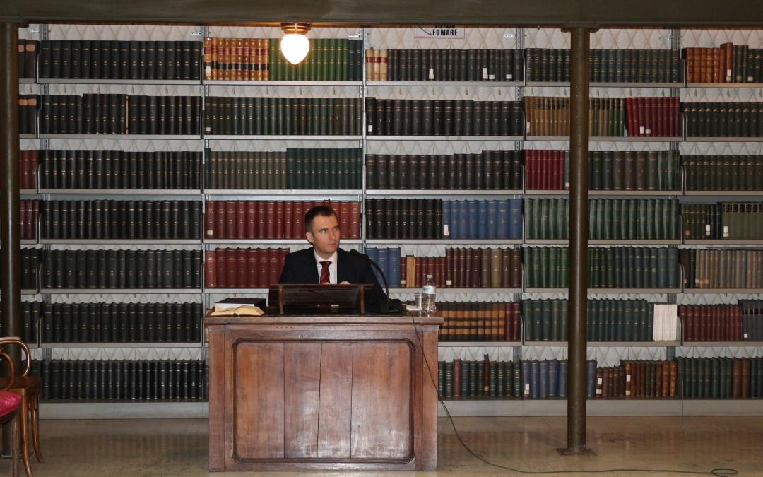 Doctorat în Drept Canonic la Institutul Pontifical Oriental din Roma