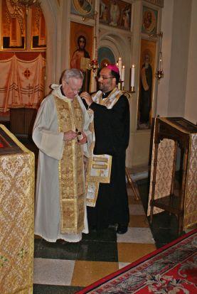 Colegiul Pio Romeno: acordare de cruce pectorală
