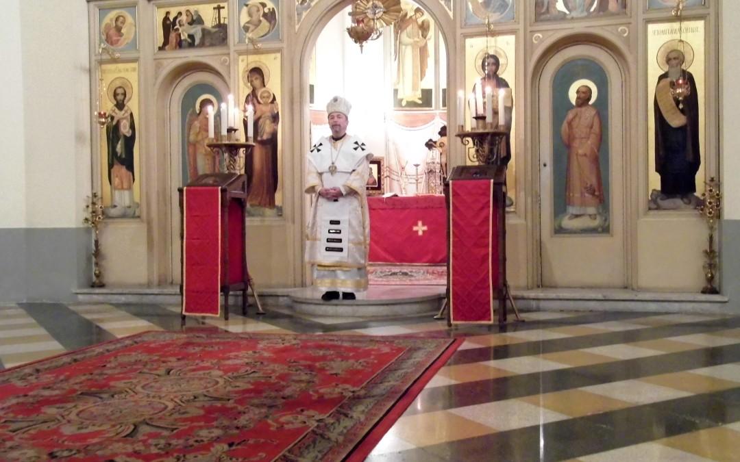 Celebrare liturgică prezidată de Arhiepiscopul Cyril Vasil la Colegiul Pontifical Pio Romeno