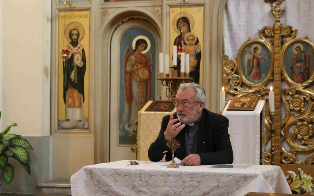 Conferință la Colegiul Pontifical Pio Romeno
