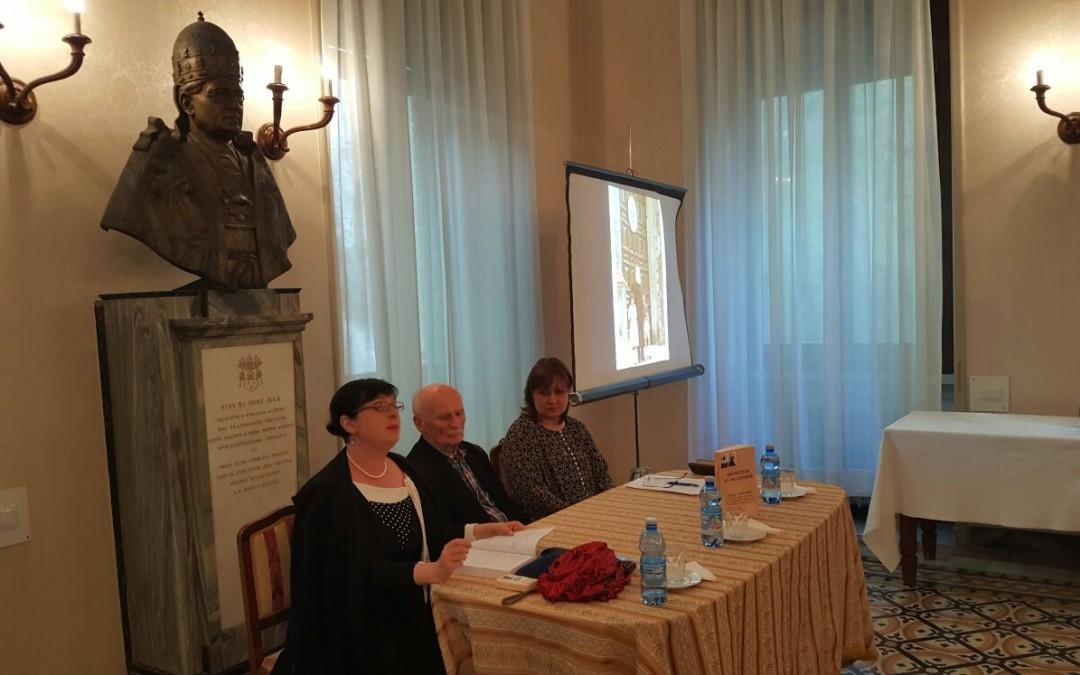 Prezentare de carte la Colegiul Pontifical Pio Romeno din Roma