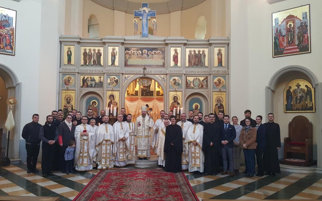 Hirotonire diaconală la Colegiul Pontifical Pio Romeno din Roma