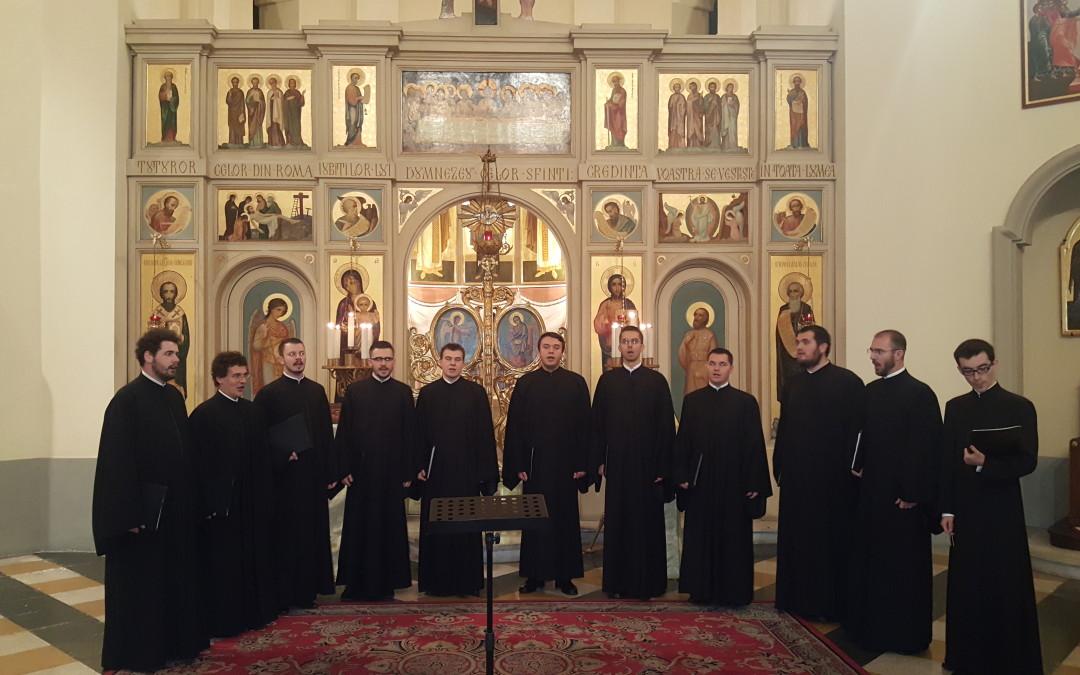 """""""Mare Bucurie"""" – Concertul de colinde al studenților Colegiului Pontifical Pio Romeno"""