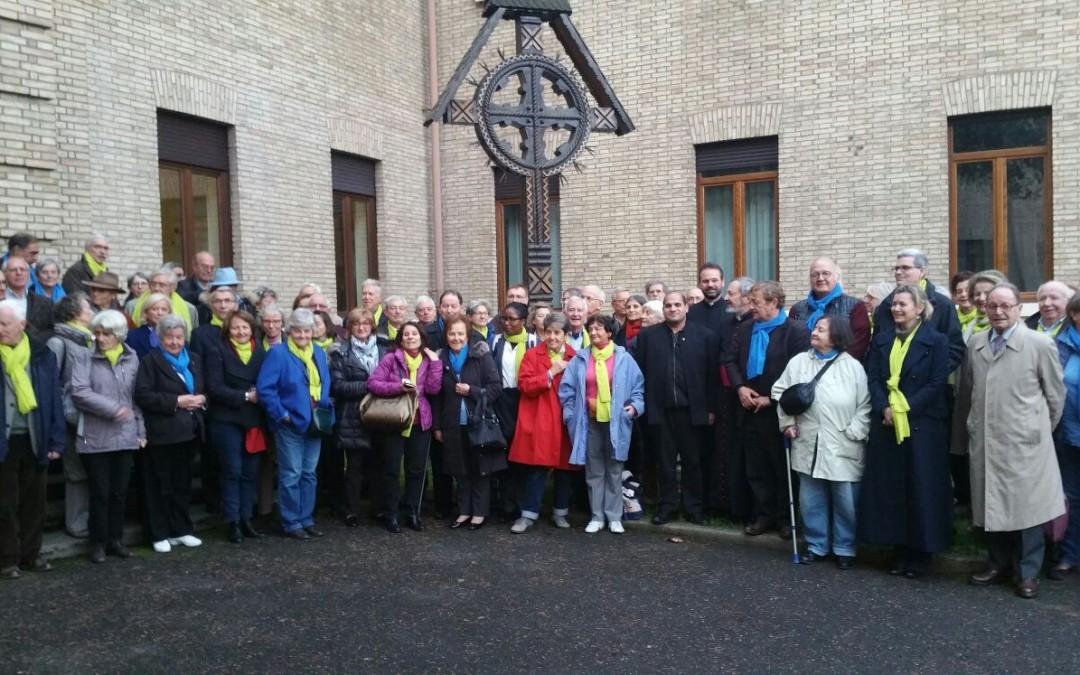 Asociația L'Œuvre d'Orient vizitează Colegiul Pontifical Pio Romeno