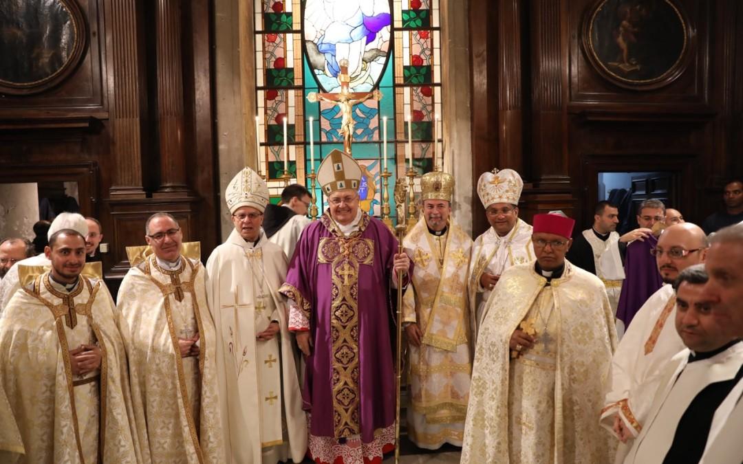Cardinalul Sandri la ceas aniversar