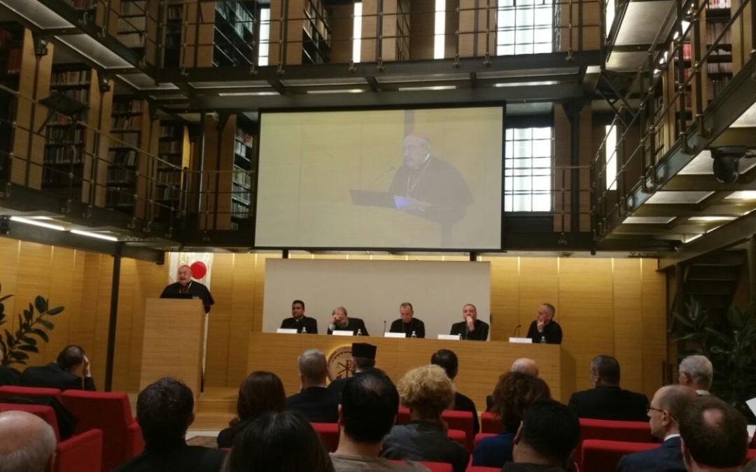 100 de ani de la înființarea Congregației pentru Bisericile Orientale și a Institutului Pontifical Oriental