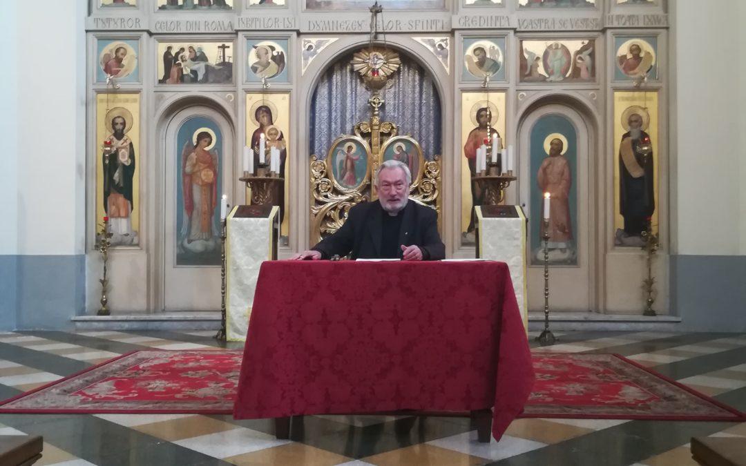 """Pr. Mihály Szentmártoni – Conferința """"Darurile Spiritului Sfânt"""""""